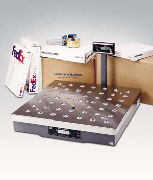 NCI Weigh Tronics 7824 Shipping Scale with Balltop